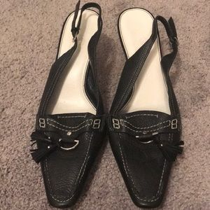 Cole Haan Tasseled Sling Pumps